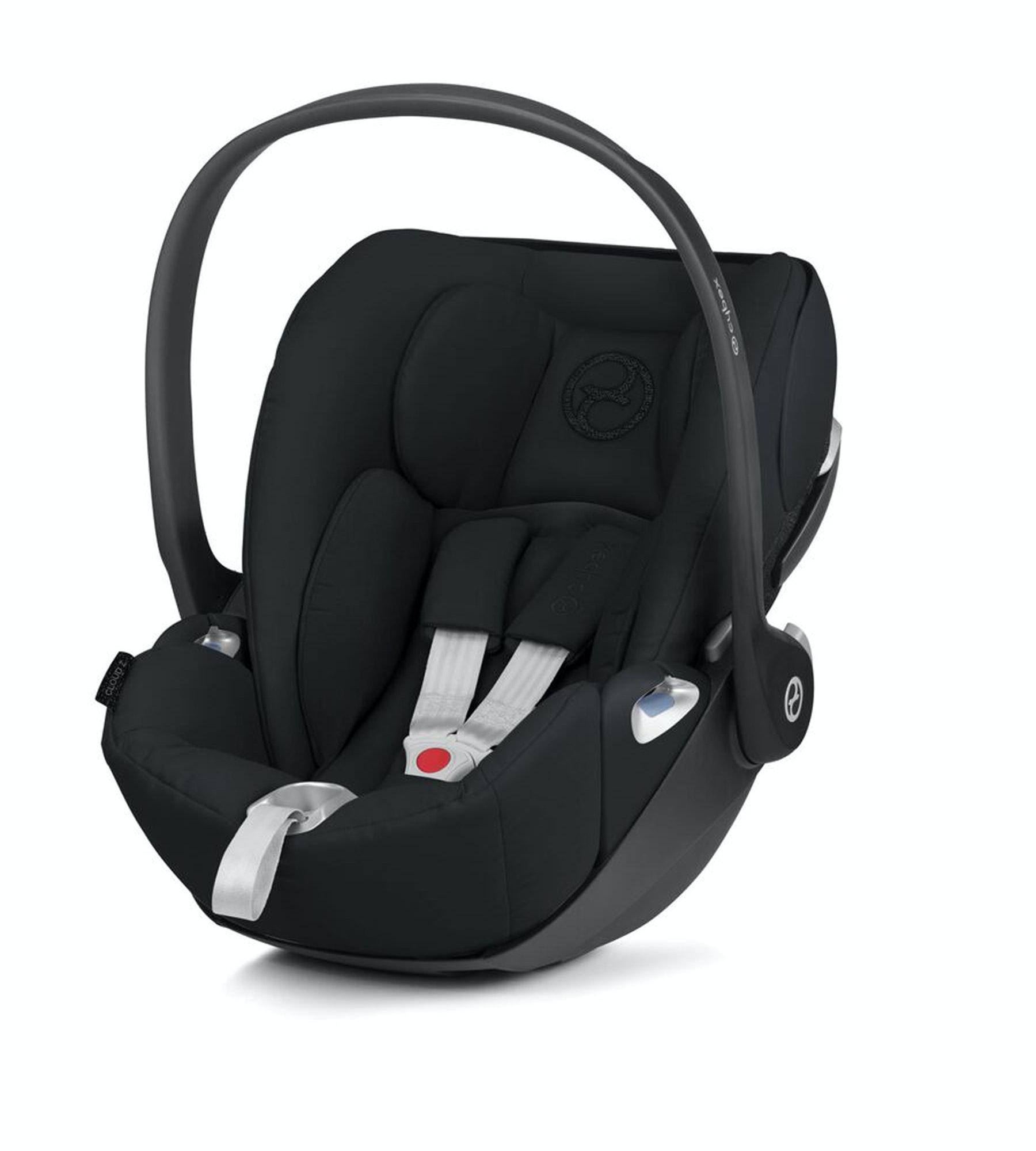 Cybex Cloud Z i-Size Baby Car Seat - Deep Black