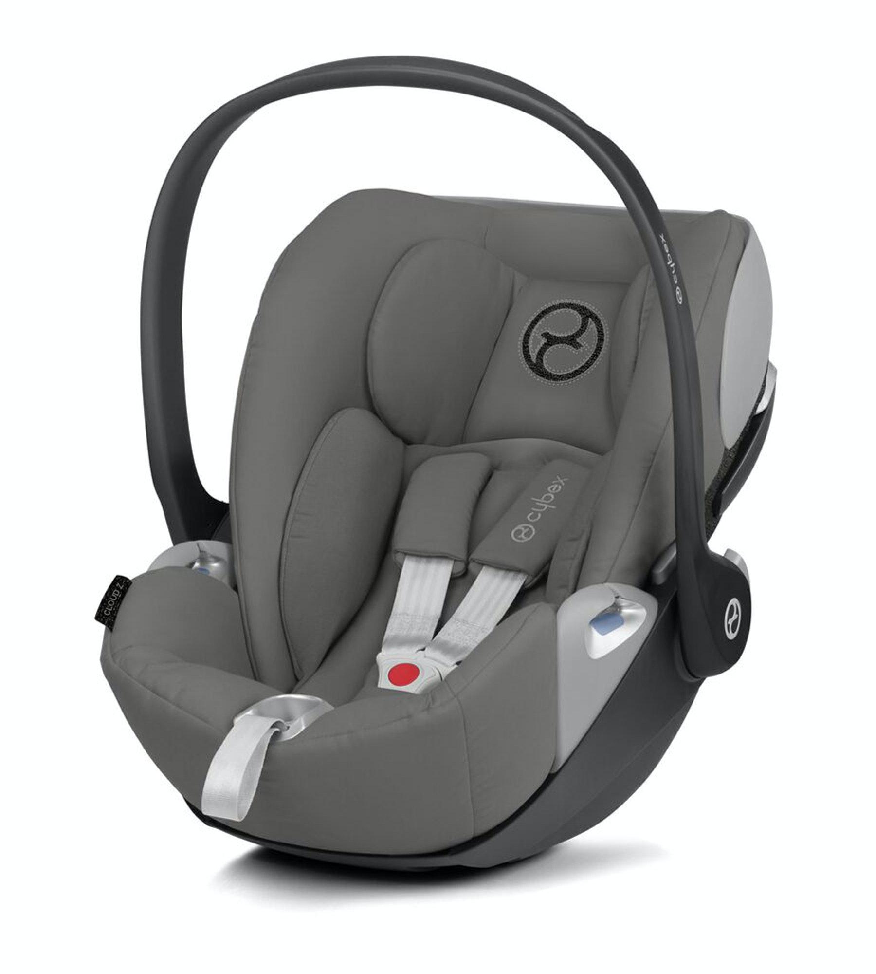 Cybex Cloud Z i-Size Baby Car Seat - Soho Grey
